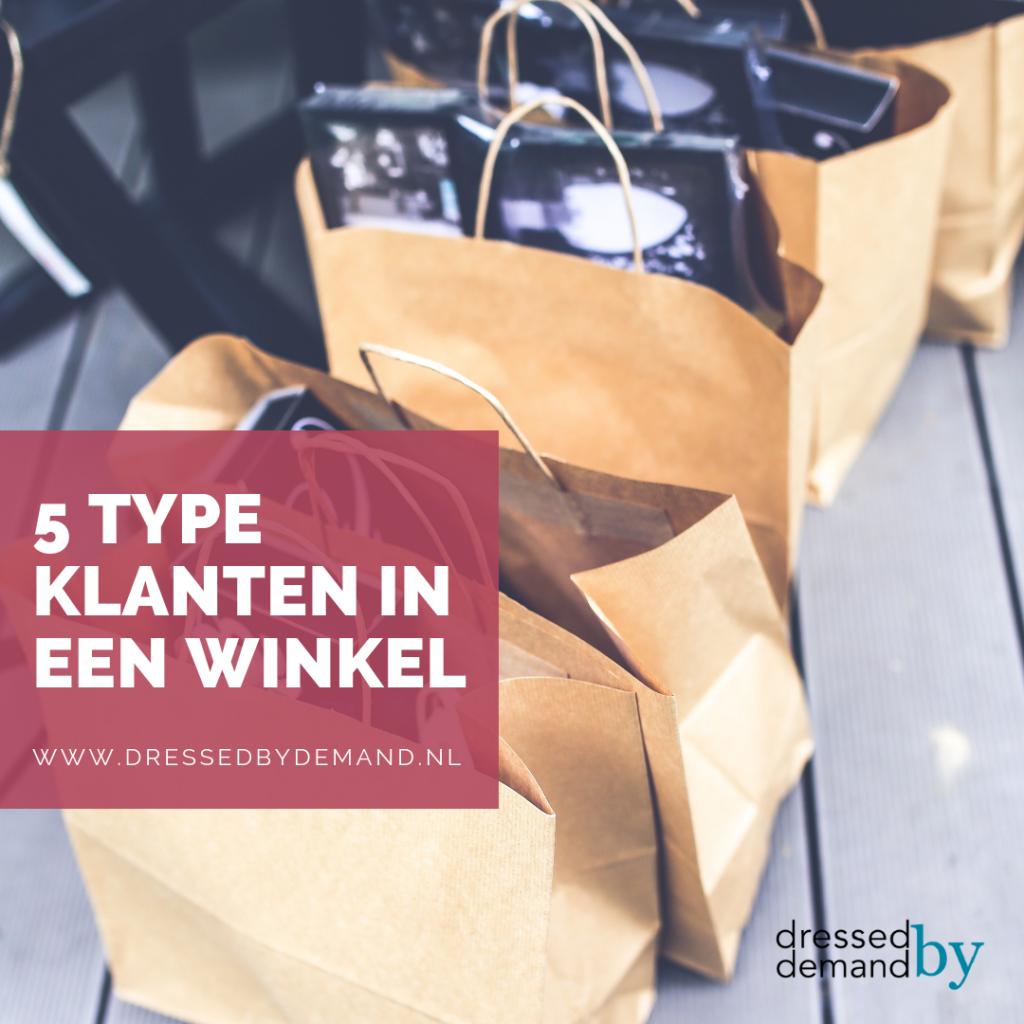 5 type klanten in een winkel